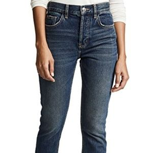 Current/Elliott Stovepipe Jeans High Rise Button